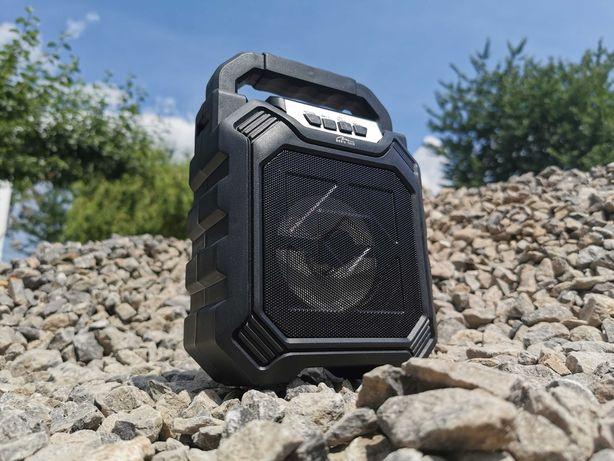 Boombox Kolumna Radio Budowlane Głośnik BLUETOOTH MP3 Subwoofer Wieża