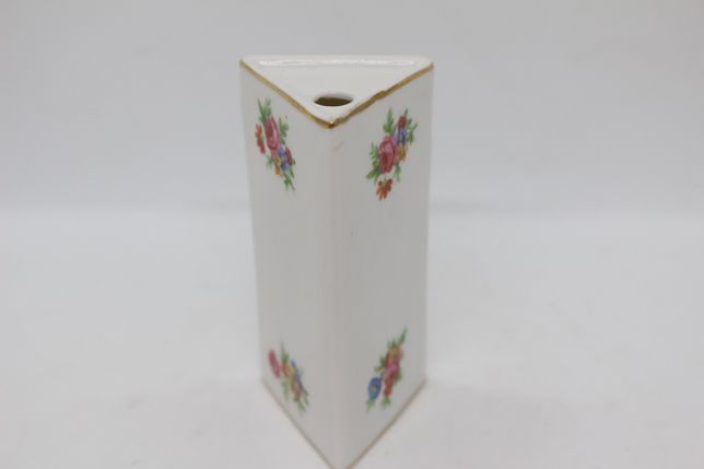 Paliteiro Triangular Floral Vista Alegre 1947