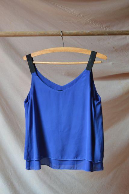Bluzka Takko Fashion, piękny kobaltowy kolor, M