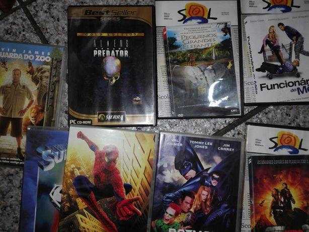 Colecção de filmes em dvd