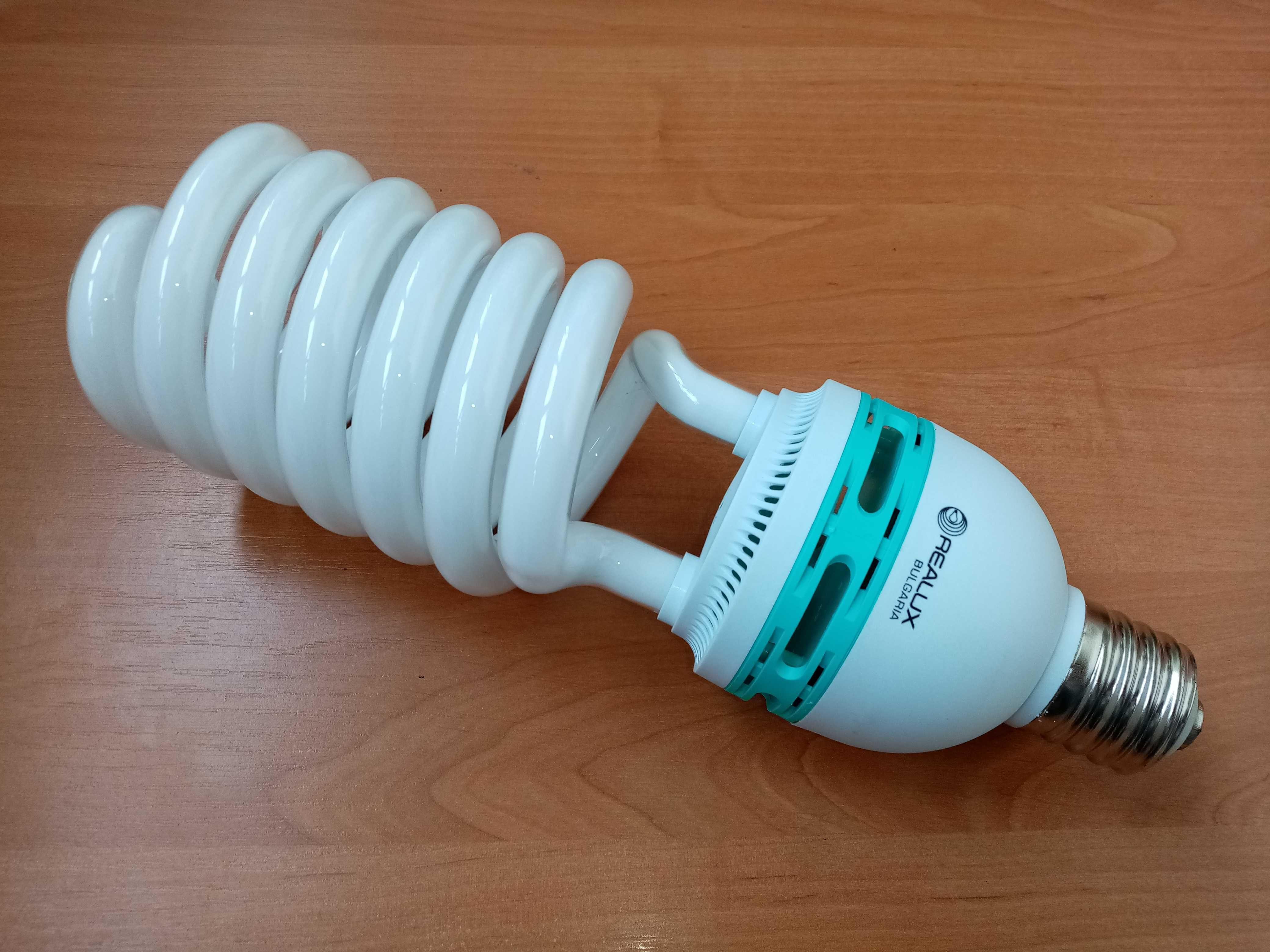 Лампа энергосберегающая 105 вт Е40