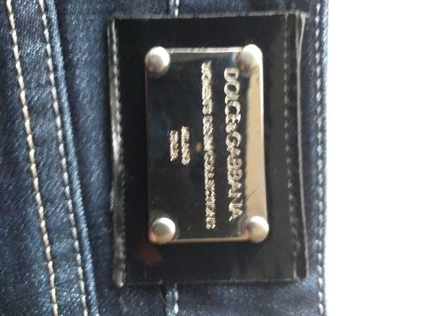 Dolce&Gabbana spodnie jeansy damskie