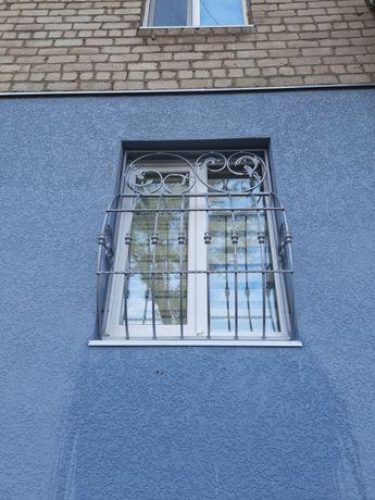 Решетки на окна, навесы, ворота, оградки