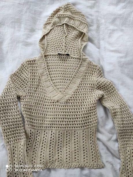 Sweterek z dzianiny. Zobacz moje pozostałe aukcje!