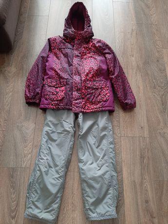 Лыжный костюм на девочку 146
