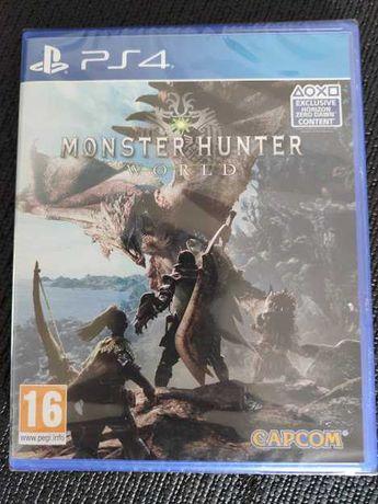 Monster Hunter World Ps4 NOVO SELADO playstation 4 troca retoma