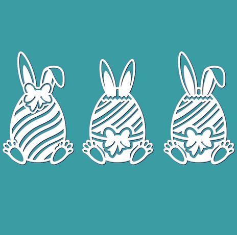 Pisanka jajko Wielkanoc pisanki wzornik wykrojnik scrapbooking kartka