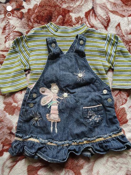 Весенняя одежда для девочки