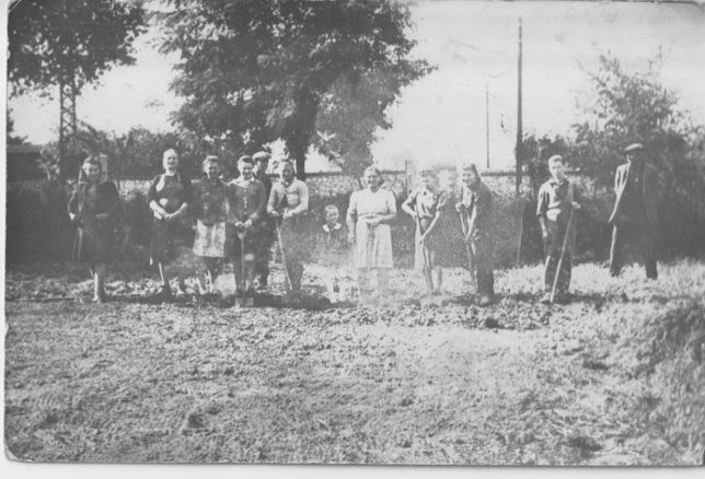 stare zdjęcie polska wieś