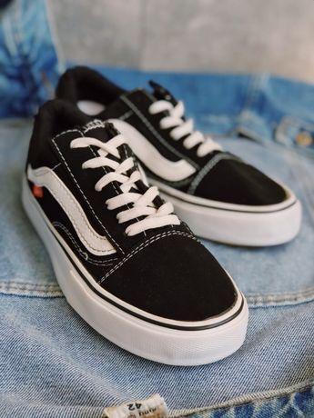 Кроссовки черно белые Vans old skool Black and white Топовые
