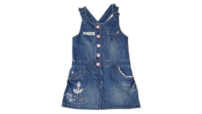 F&F sukienka jeansowa roz. 2 -3l st.idealny