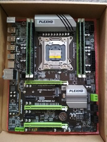 Intel Xeon E5 2689 + PlexHD x79 Turbo + ОЗУ 4x4 гб Комплект