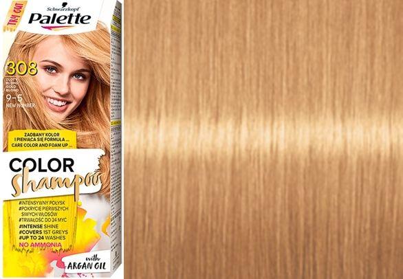 Szamponetka Palette Szampon koloryzujący 308 Złoty Blond bez amoniaku