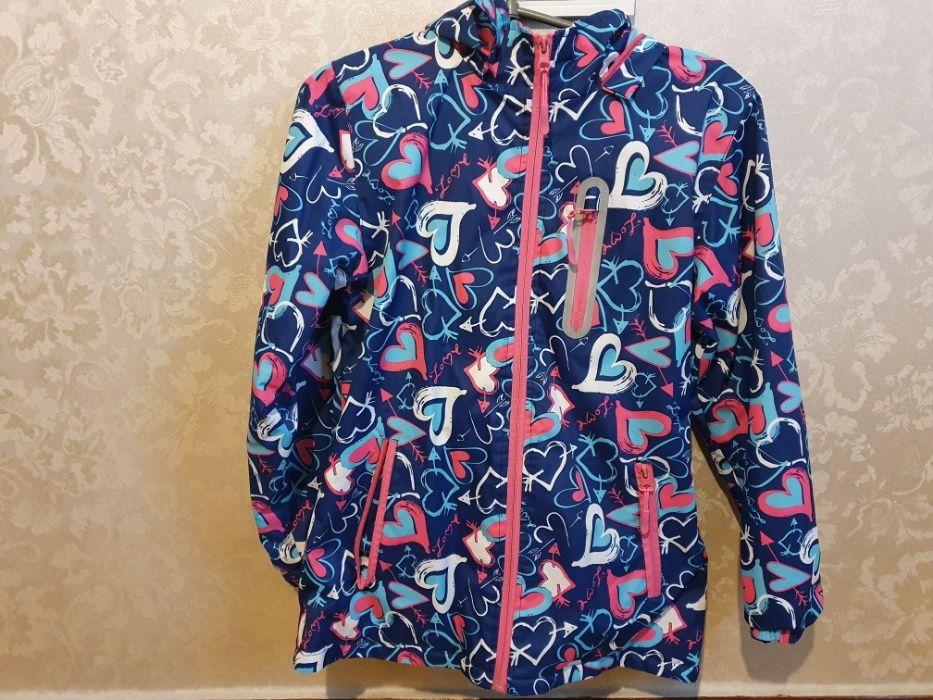Куртка демисезонная 140-146 рост хорошее состояние Запорожье - изображение 1