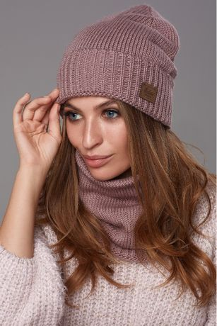 НОВИЙ Комплект шапка + хомут