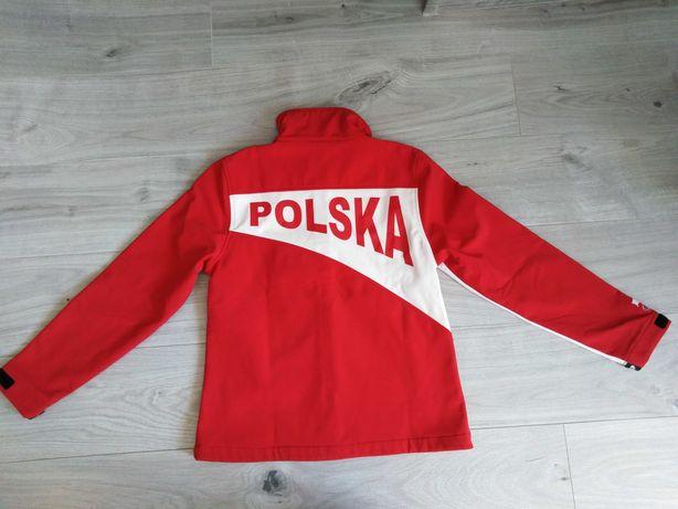 Bluza 4F POLSKA rozm M biało-czerwona