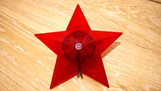 Звезда для елки звезда на ёлку с подсветкой СССР