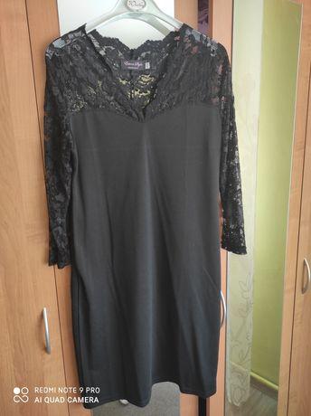 Sukienka, czarna,xxxxl