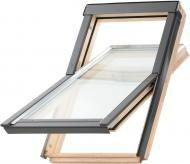 Мансардное окно з коміром, шторкою та XIT-L2 Optilight ProfiDecor 78x1