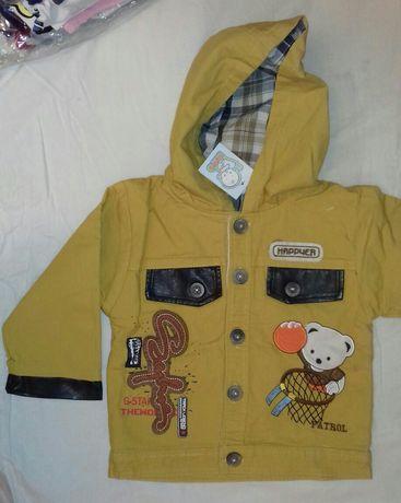 Новая куртка курточка с подкладкой ветровка