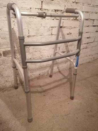 Mobilex Balkonik inwalidzki srebrny dla starszej osoby lekki