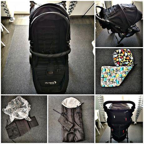 Wuzek baby jogger city mini  GT + akcesoria