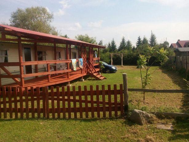 Domek na wsi nad jeziorem Narie