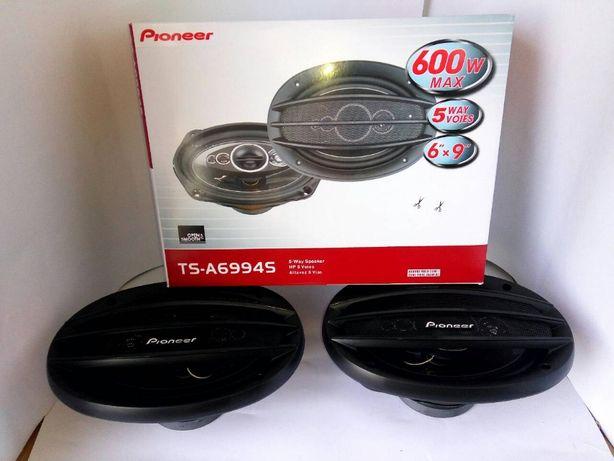 Автоакустика Пионер овали Pioneer динамики колонки овалы 600ват 5 поло