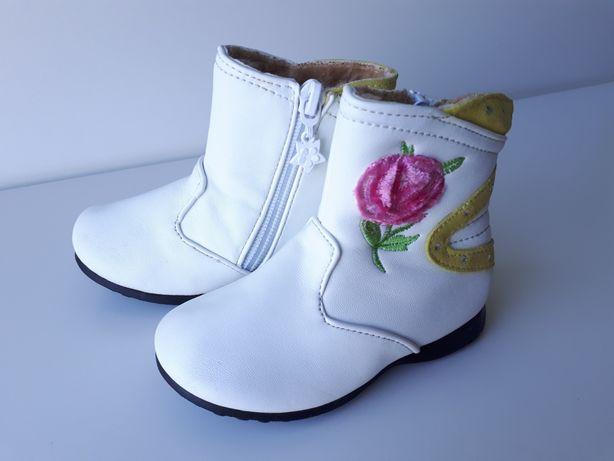 KOZACZKI kozaki dla dziewczynki, buty na zimę r. 21 NOWE