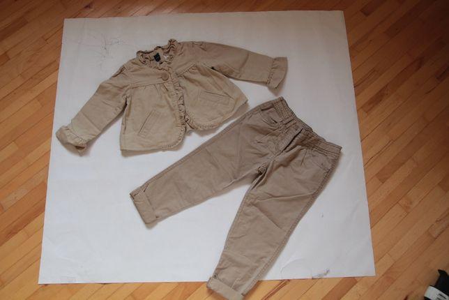 хлопковый пиджак геп 3-4 г брюки джордж, геп, некст, Gap Next George