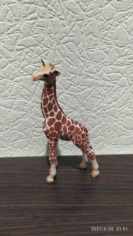 Детеныш жирафа Schleich жираф шляйх