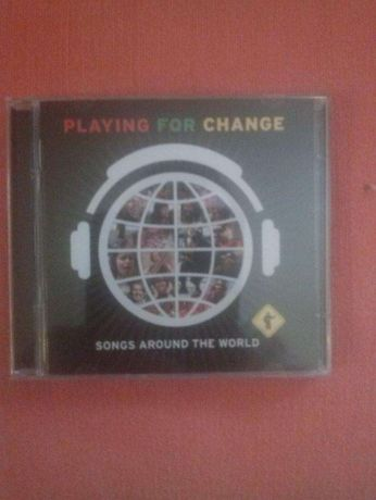 """Cd Audio e Dvd """" Playng for Change """" - Songs around the World"""