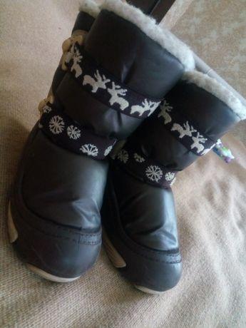 Сапоги зимние Demar, стелька 18 см