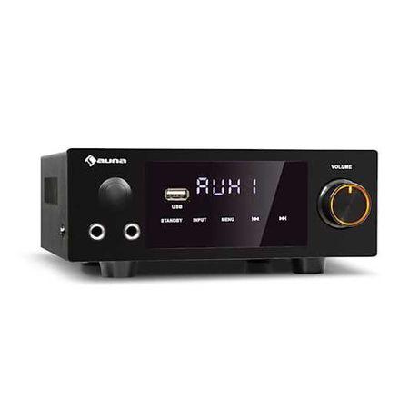 Wzmacniacz stereo Hi-Fi 2x 50W RMS Bluetooth USB 160602