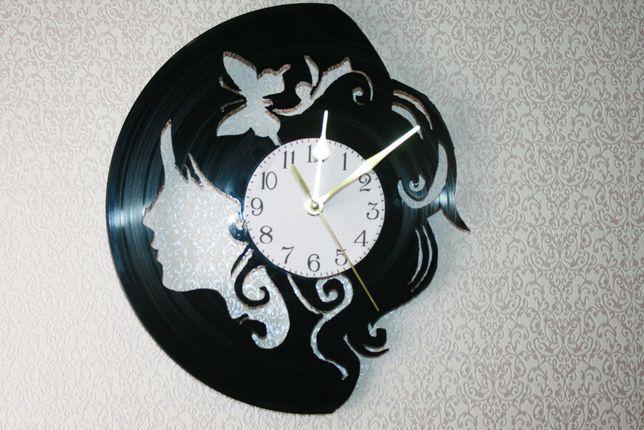 Relógio de Parede em Vinil - Para salão cabeleireiro