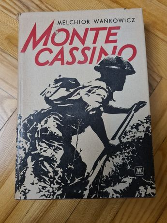 Monte Cassino - Melchior Wańkowicz, Warszawa 1976
