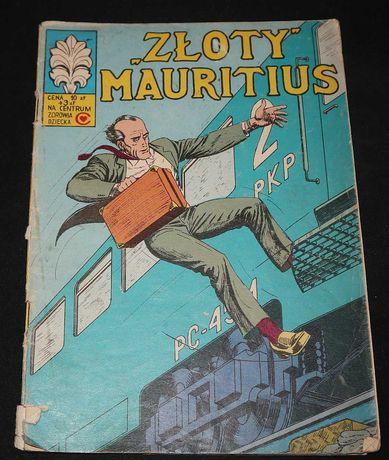 """Komiks : Kapitan Żbik - """"Złoty"""" Mauritius 1980"""