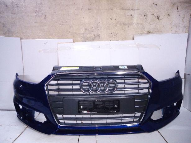 Audi a1 zderzak przód przedni s line lift