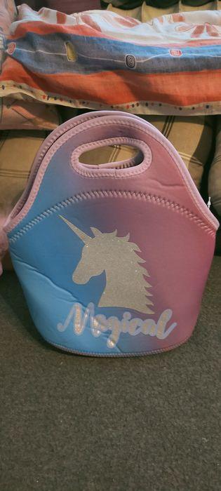 Dwie torebki, piórnik,opaski i pudełko na skarby dla dziewczynki Gdańsk - image 1