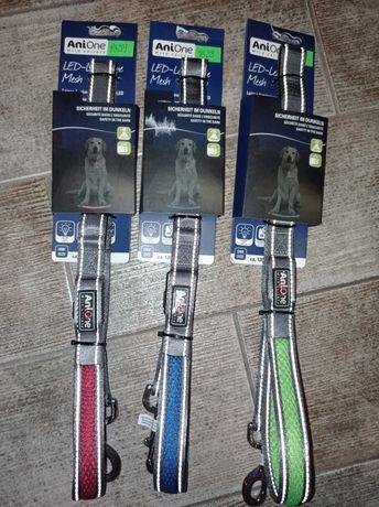 Nowe smycze LED dla psa