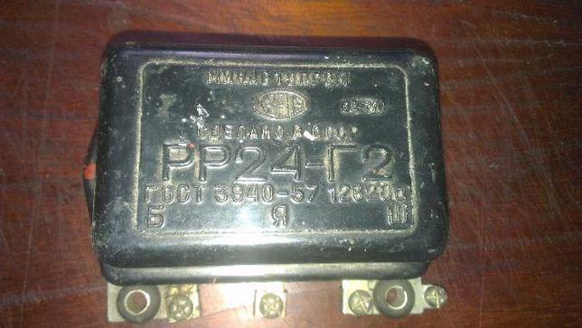 Реле регулятор зарядки РР24-Г2 + РР24
