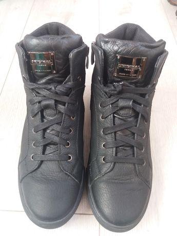 Демисизонные ботинки.Коженные ботинки.Подростковая обувь.Высокие кеды