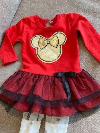 Sukienka+buciki+rajstopy dla dziewczynki