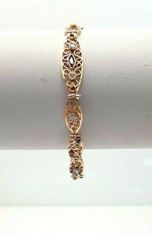 Złota bransoletka 585/W:9,71/R:19cm