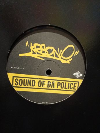 KRS-One ‎– Sound Of Da Police / Hip Hop vs Rap - Vinyl Winyl 12""
