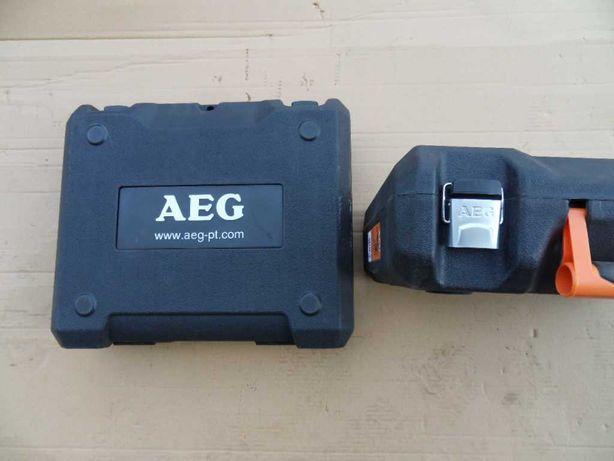 Wiertarka wkretarka AEG nowa walizka
