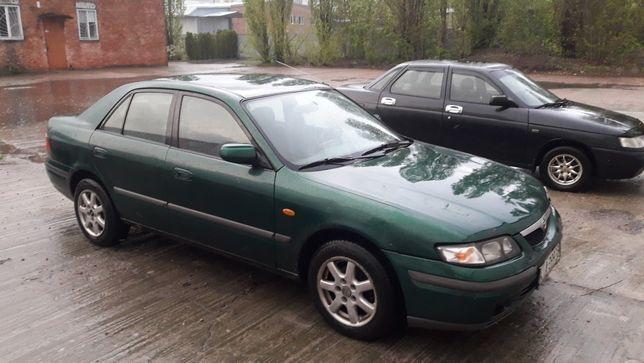 Продам по запчастям, запчасти Mazda 626 GF седан 1998г. 2.0бенз.мех