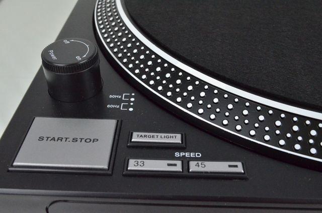 Gramofon CD, USB, SD, kasety, radio, AUX + pilot Auna TT 1200 Nowy