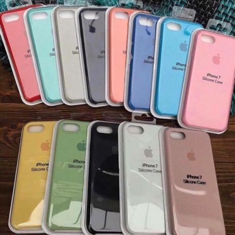 Чехол iphone айфон 5/6/6s/7/8 plus X/Xs/Xr/max/11/12 pro silicone case