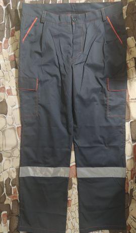 Рабочие штаны брюки роба р.54-56 темно-серые